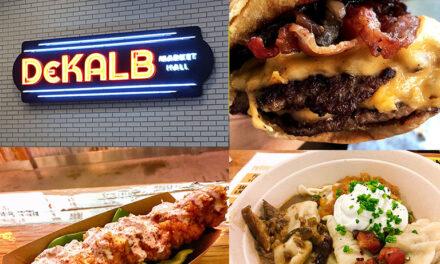 Food Hall: Dekalb Market Hall Brooklyn, NYC