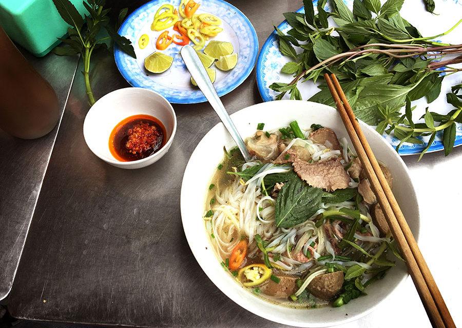 Eating in Saigon