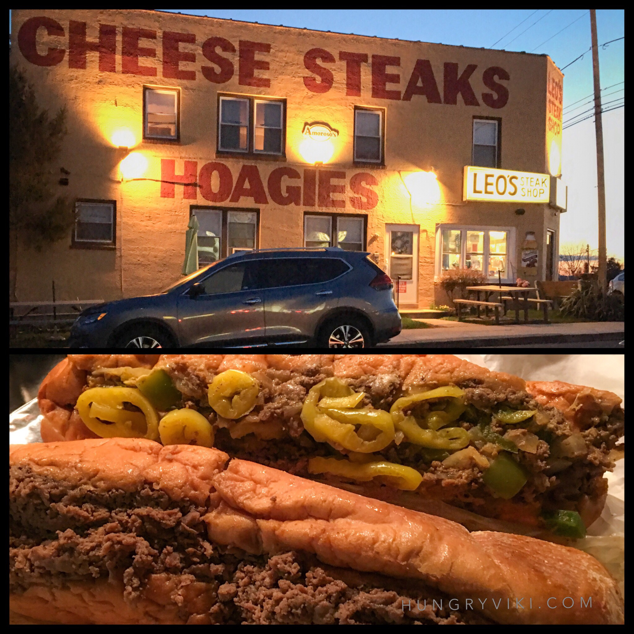Leos steaks cheesesteaks