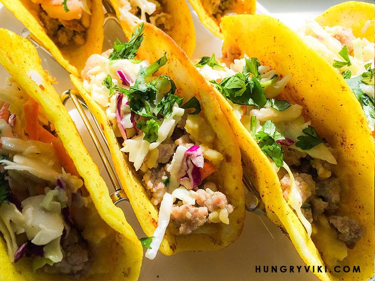 Banh Xeo Tacos